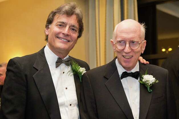 Peter G. Crummey with Justice Robert S. Smith of the state Court of Appeals. (Colleen Piccolino)