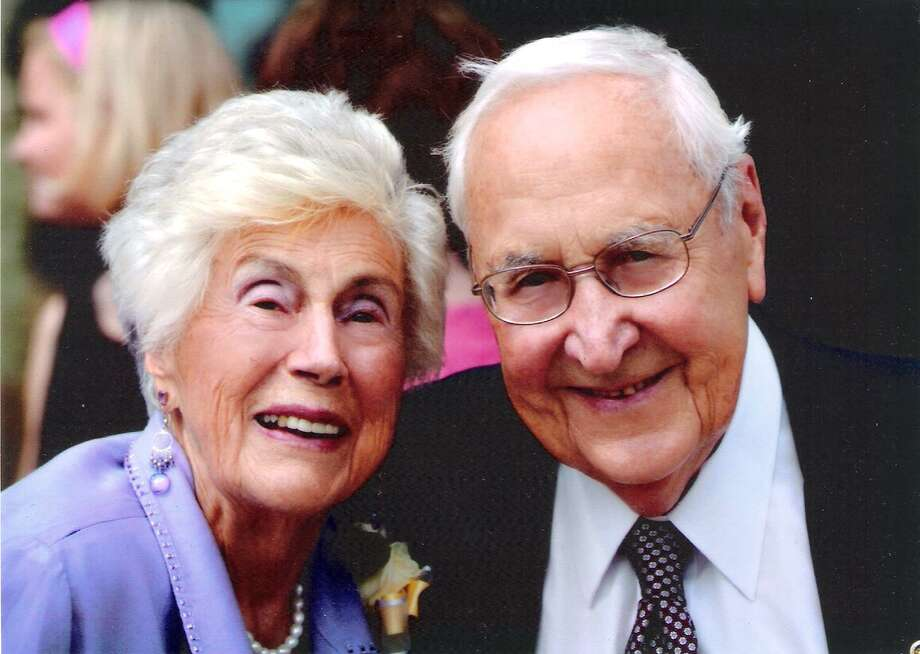 Mary and Norbert Woods of Schenectady are celebrating their 70 wedding anniversary. (Photo provided)