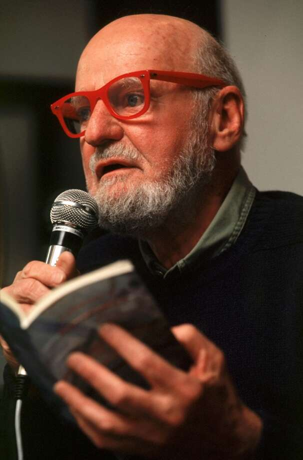 American beat-generation poet Lawrence Ferlinghetti is the co-founder of City Lights Bookstore and Publishers. Photo: Sean Gallup, Getty Images