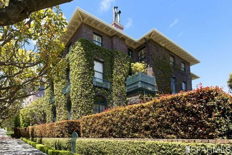 Ivy-covered exterior. Photos: MLS/Ted Bartlett, Pacific Union International