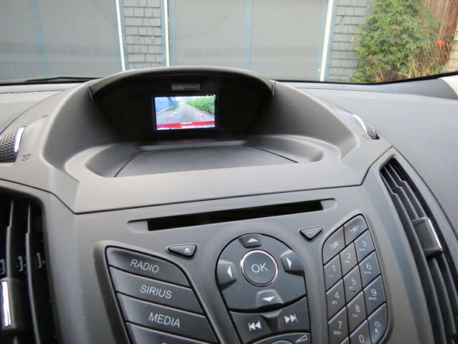 Back-up cameras are popular these days and they really are useful. But the screen has to be big. In the Escape, the screen is quite small and, to make it worse, it's buried deep in the center part of the dashboard, down toward the windshield. Yes, you can see what's in back of your car, but it really would help if the screen were bigger and closer.