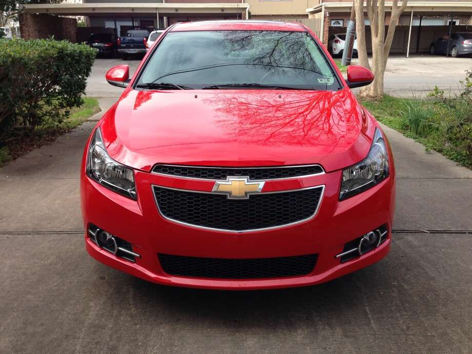 The 2014 Chevrolet Cruze Photo: Dwight Silverman, Houston Chronicle