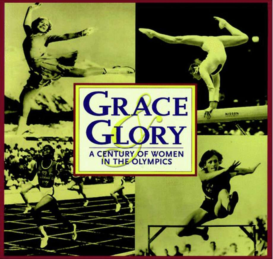 "Greenwich Library's Cathleen Blood says, ""Youíll learn about how female athletes overcame political, cultural, and racial barriers of all kinds,"" in ""Grace & Glory: A Century of Women in the Olympics."" Photo: Contributed Photo / Greenwich Citizen"