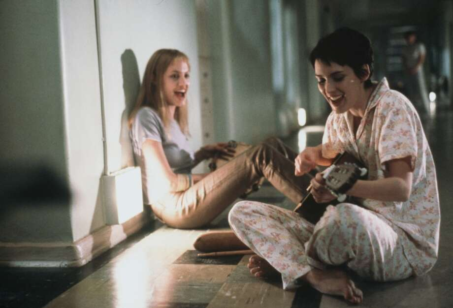 """Angelina Jolie and Winona Ryder in """"Girl, Interrupted,"""" 2000. Photo: Suzanne Tenner, Columbia/TriStar"""