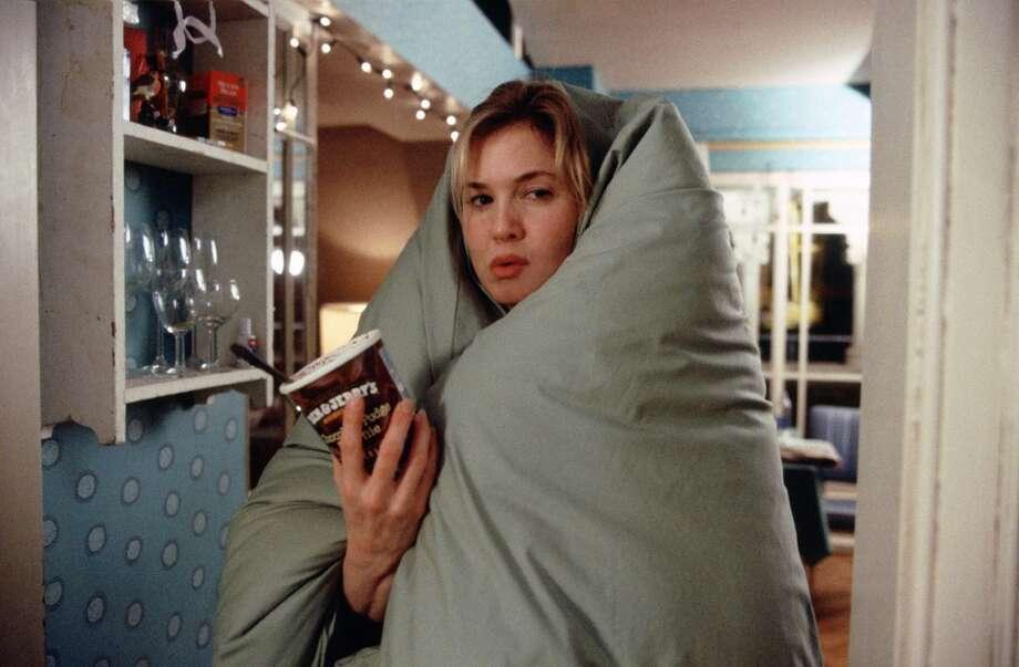 "Zellweger in ""Bridget Jones: The Edge of Reason,""2004. Photo: LAURIE SPARHAM, AP"