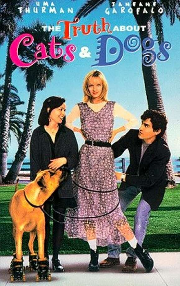 "Garofalo starred in ""The Truth About Cats and Dogs"" in 1996."