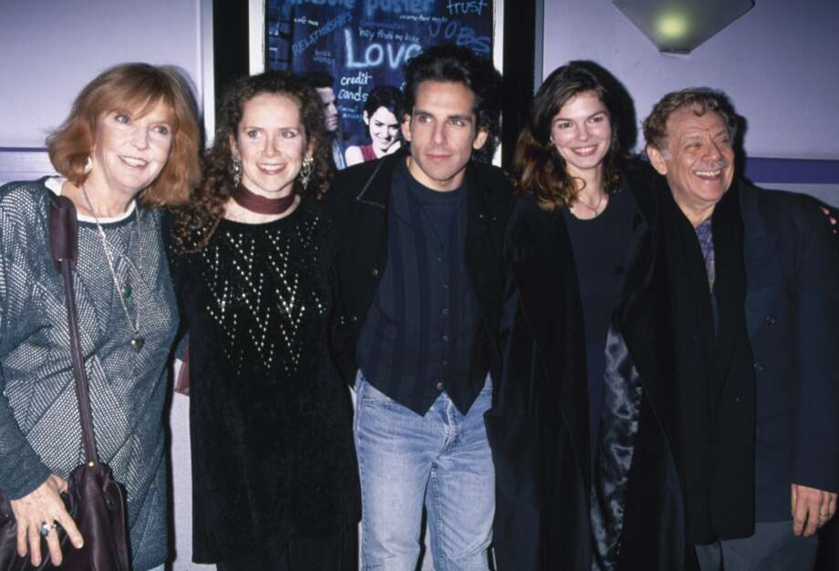 "Ben Stiller, shown here with his family and then-girlfriend at the ""Reality Bites"" premiere, made his directorial debut with the film, in which he also had a starring role. Photo: DMI, Time & Life Pictures/Getty Image"