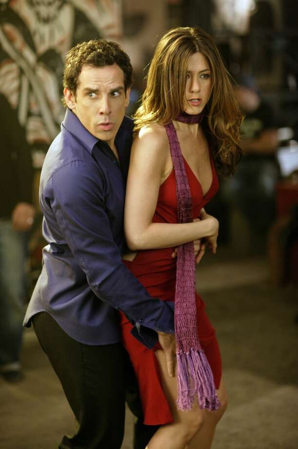 "Stiller and Jennifer Aniston in ""Along Came Polly,"" 2004. Photo: Tracy Bennett, Universal Studios"
