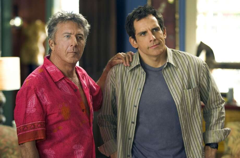 "Stiller and Dustin Hoffman in ""Meet the Fockers,"" 2005. Photo: Tracy Bennett, Universal Studios"