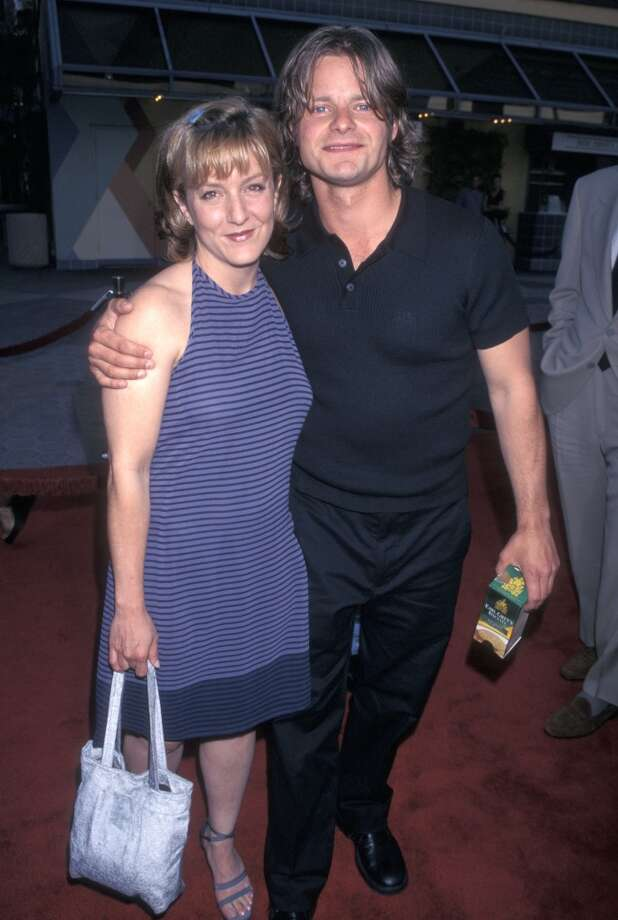 "Zahn and wife Robyn Peterman at the ""Out of Sight"" premiere in 1998. Photo: Ron Galella, WireImage"