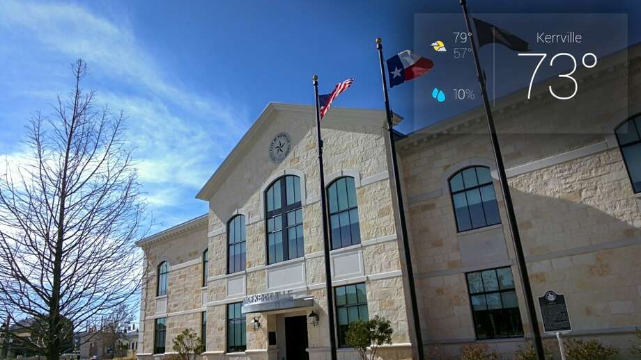 Bright, sunny day in Kerrville, Texas