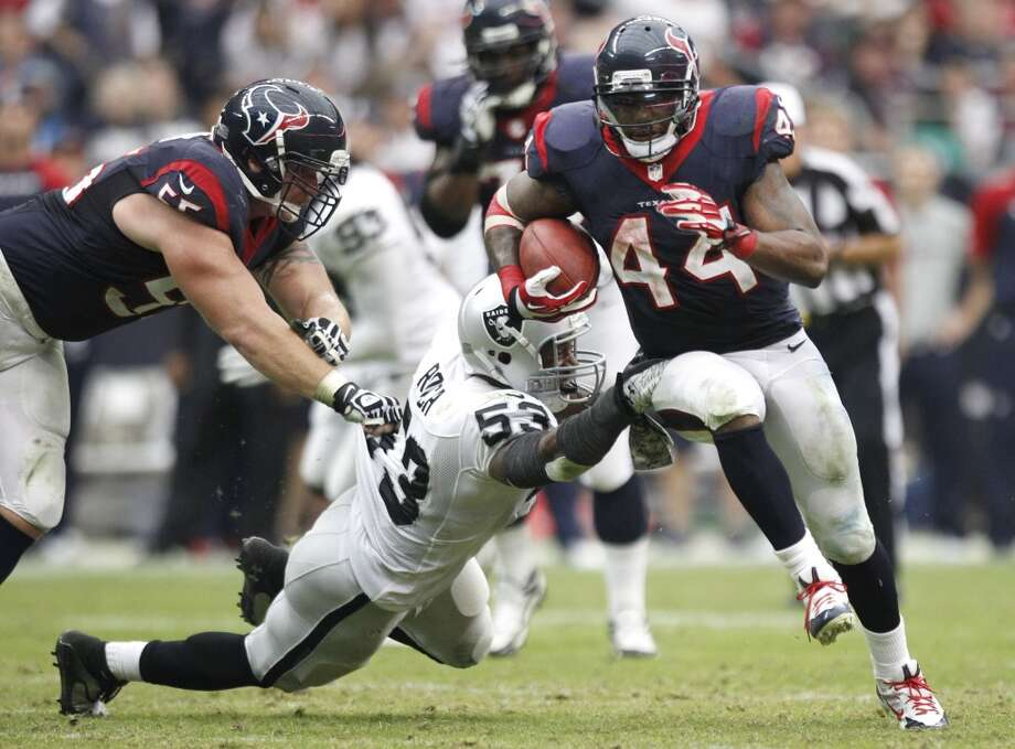 Ben Tate  Age: 25  2013 team: Texans  2013 stats: 181 carries, 771 yards and 4 TDs Photo: Brett Coomer, Houston Chronicle