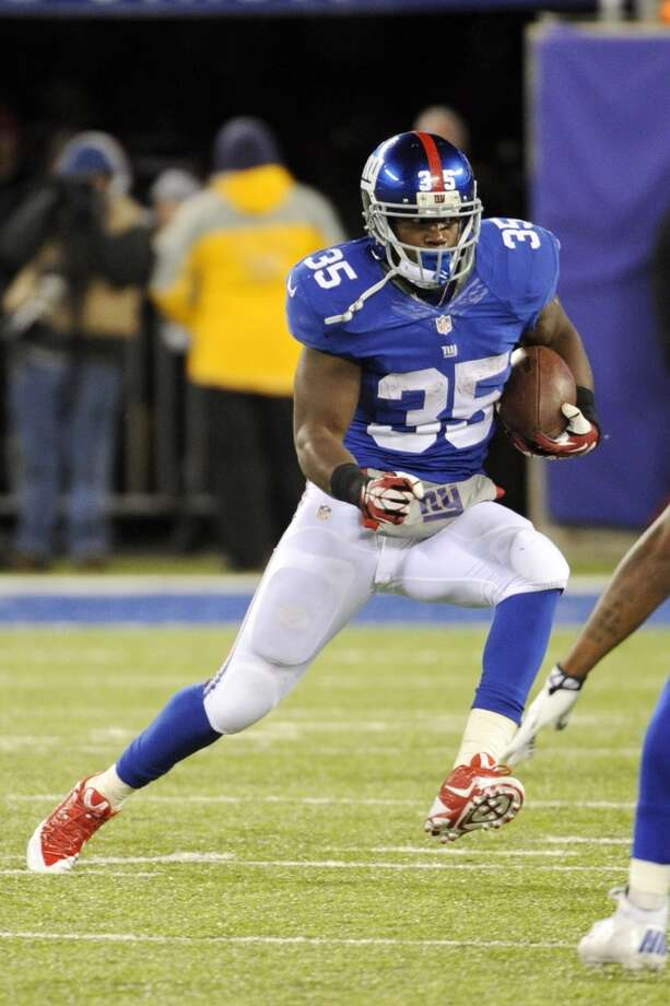 Andre Brown  Age: 27  2013 team: New York Giants  2013 stats: 139 carries, 492 yards and 3 TDs Photo: Bill Kostroun, Associated Press
