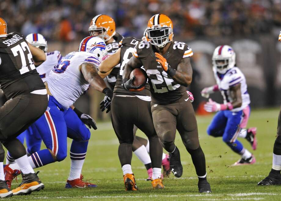 Willis McGahee  Age: 32  2013 team: Cleveland Browns  2013 stats: 138 carries, 377 yards and 2 TDs Photo: David Richard, Associated Press