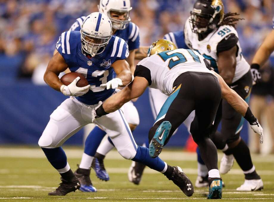Tashard Choice  Age: 29  2013 teams: Buffalo Bills and Indianapolis Colts  2013 stats: 46 carries, 170 yards and 0 TDs Photo: Gregory Shamus, Getty Images