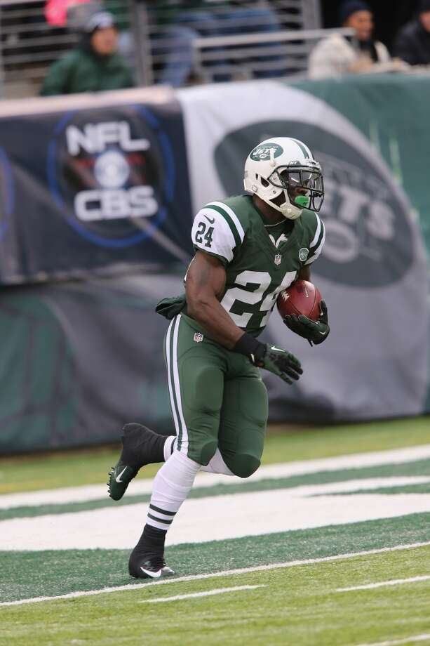 Darius Reynaud  Age: 29  2013: New York Jets  2013 stats: 18 carries, 135 yards and 0 TDs Photo: Al Pereira