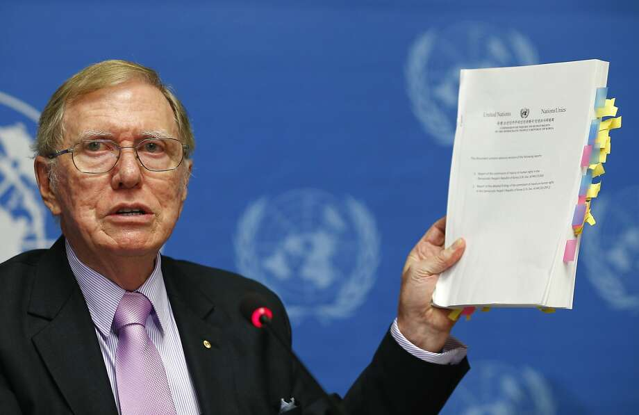 Michael Kirby, chairman of the U.N. inquiry, hopes the findings galvanize the international community. Photo: Denis Balibouse, Reuters