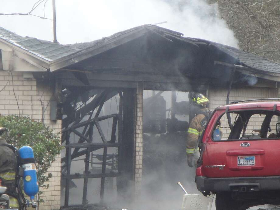 No one was injured in a Lumberton house fire Sunday caused by cooking with oil, authorities said. Lumberton Fire & EMS and Silsbee Volunteer Fire Department responded to the house fire about 11 a.m. in the 1200 block of Village Drive. Photo: Courtesy Of Lumberton Fire Dept.