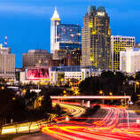 Raleigh, North Carolina, leans to the left, a study published this month in the American Political Science Review says.