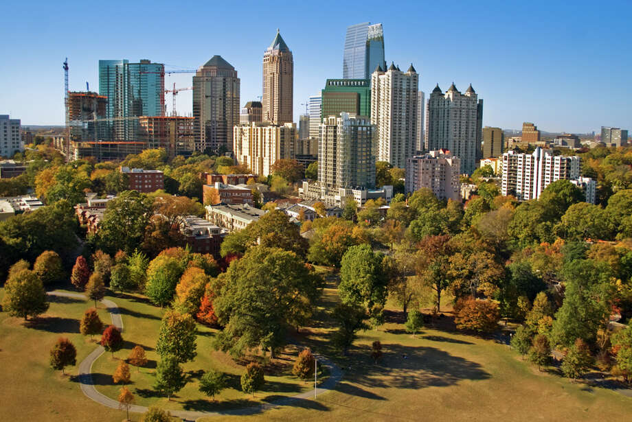 10 (tie). Atlanta, up 0.5 percent. Photo: Photo By Scott Dunn, Getty Images / Flickr RF