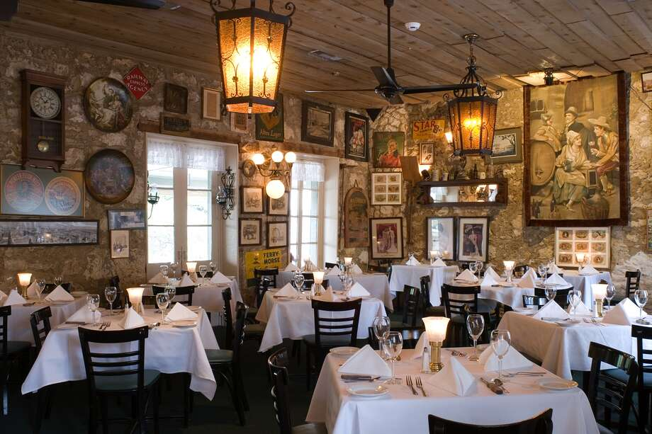 This fine dining restaurant was featured on the Travel Channel. The restaurant is located in La Villita on the River Walk, the old charm steakhouse is recognized for its USDA steaks, expansive wine list, and rustic charm.