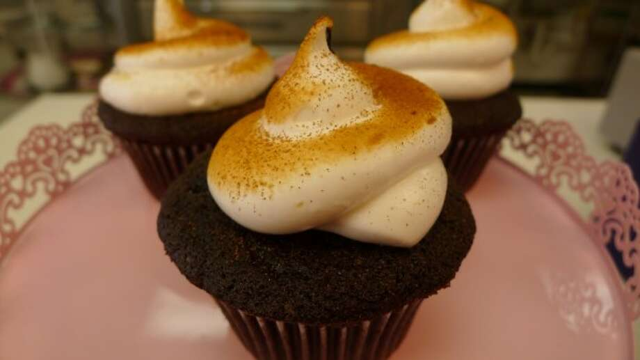Owners Lauren and Lynn Townsend participated on 'Cupcake Wars' on the Food Network - located at 13523 Nacogdoches Road, 210-646-7212.