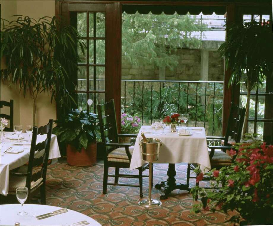 This luxury restaurant was featured on the Travel Channel. The restaurant is located within the Omni Hotel on the River Walk, and features a quiet, romantic setting.  Photo: COURTESY PHOTO