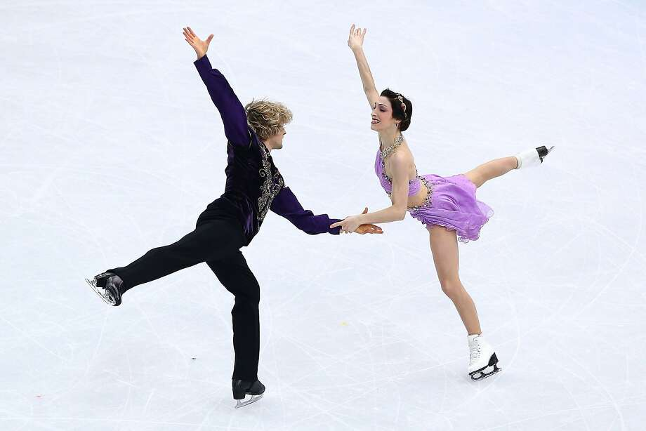 Charlie White and Meryl Davis have medals in each color after getting bronze in the team event. Photo: Clive Mason, Getty Images