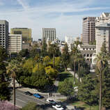 San Jose, California is a liberal city, a study published this month in the American Political Science Review said.