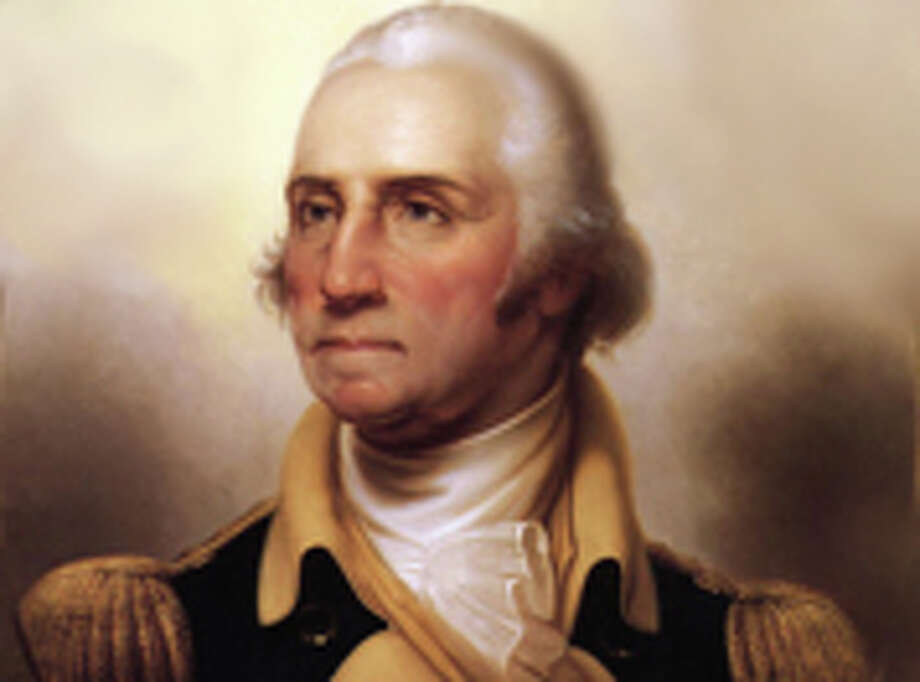 """""""If he was smart he would have put his name on (Mount Vernon). You've got to put your name on stuff or no one remembers you"""" -- President Trump."""