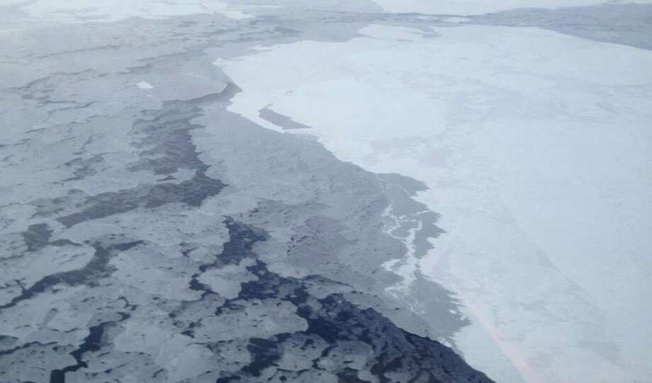 Satellite measurements used to gauge sunlight reflection in the Arctic show the darkening is as much as three times bigger than previous estimates, the study states. Photo: National Oceanic And Atmospheric Administration / The National Oceanic and Atmosph