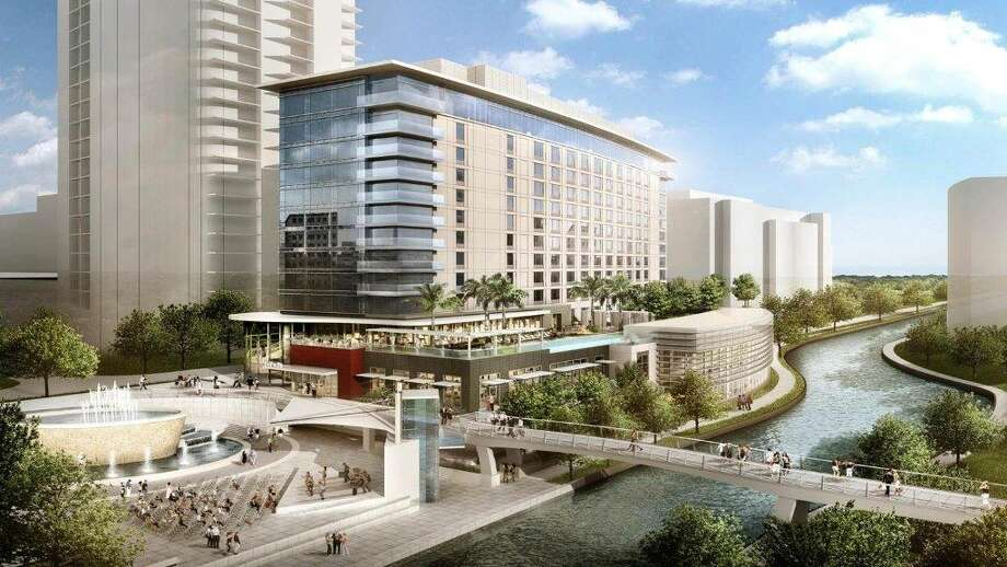 Work will begin shortly on a 303-room hotel in The Woodlands. Negotiations are not yet complete on the hotel's brand. Photo: Courtesy Photo