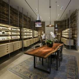 The new Oliver Peoples eyewear store on Grant Avenue in San Francisco.