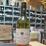 """Gewürtztraminer (guh-VURTS-trah-mee-ner): A white-wine grape that elicits crisp, spicy notes and ranges from dry to sweet. Audio: Click here to hear the term """"Gewürtztraminer."""""""