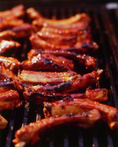 "Grillade (gruh-LAHD): A thin-pounded meat that's grilled or broiled. Audio: Click here to hear the term ""Grillade."""