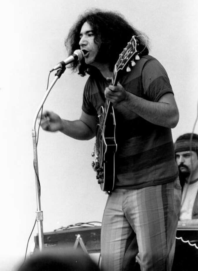 Jerry Garcia,  in the 1960s. Photo: Tom Copi / Michael Ochs Archives