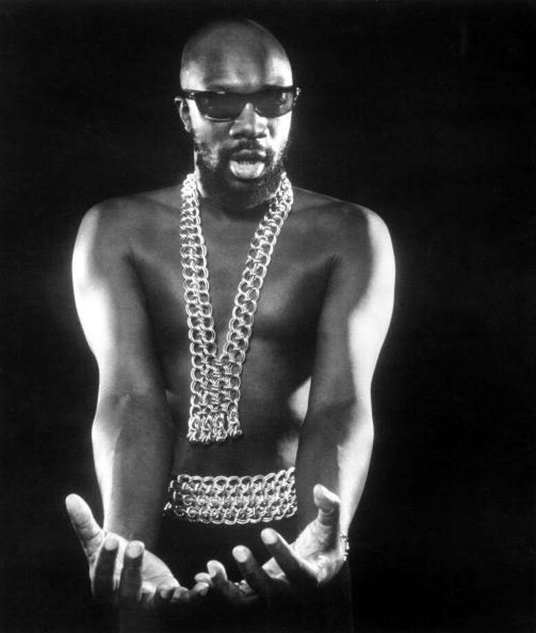 Isaac Hayes  Photo by Michael Ochs Archives/Getty Images Photo: Michael Ochs Archives / Michael Ochs Archives