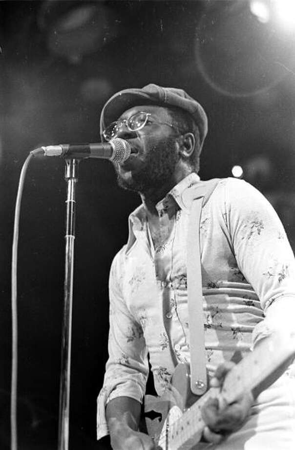 Curtis Mayfield  (Photo by Michael Ochs Archives/Getty Images) Photo: Michael Ochs Archives / Michael Ochs Archives