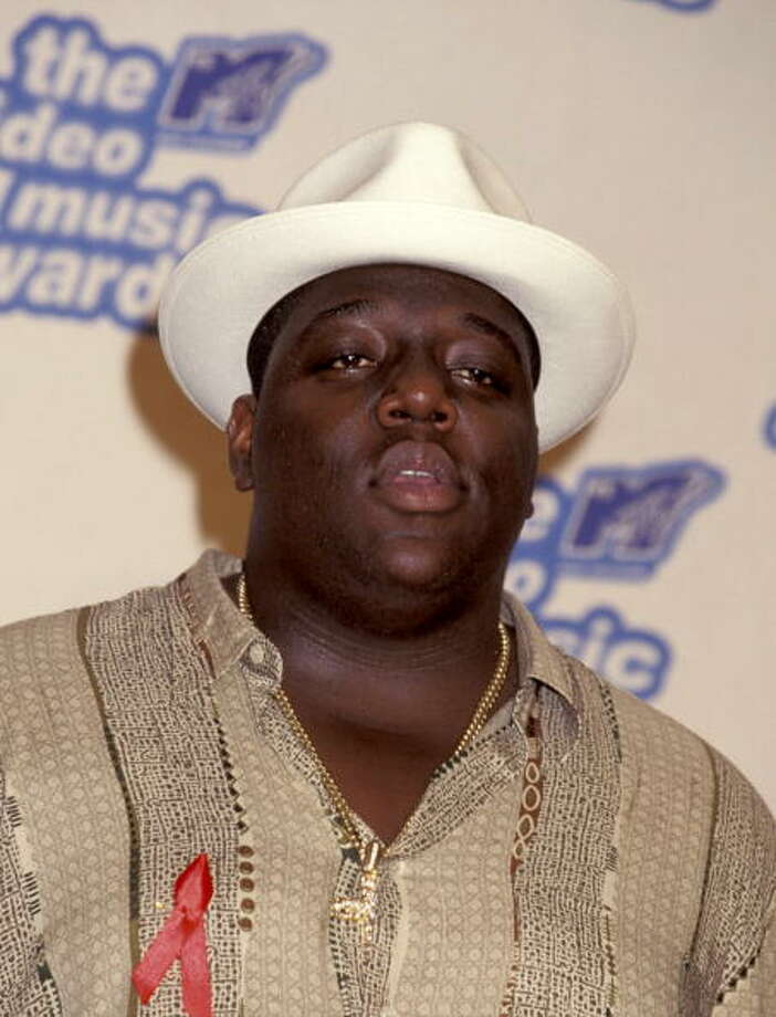 "Christopher ""Notorious B.I.G."" Wallace (Photo by Ron Galella, Ltd./WireImage) Photo: Ron Galella, Ltd., WireImage / Ron Galella Collection"