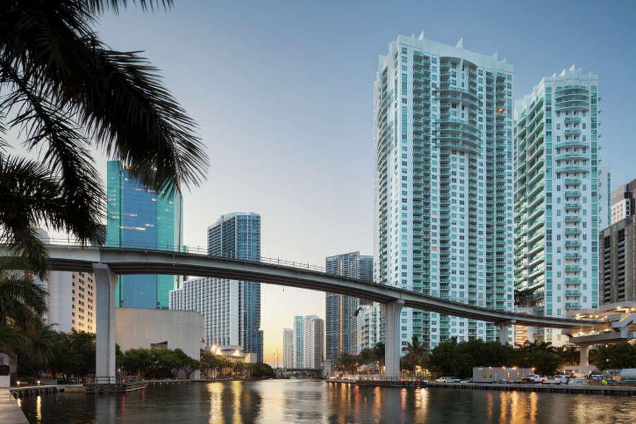 9. Miami, FloridaAnnual cost to be a yuppie: $6,187(Raimund Koch/Getty Images) Photo: Raimund Koch, Getty Images / (c) Raimund Koch