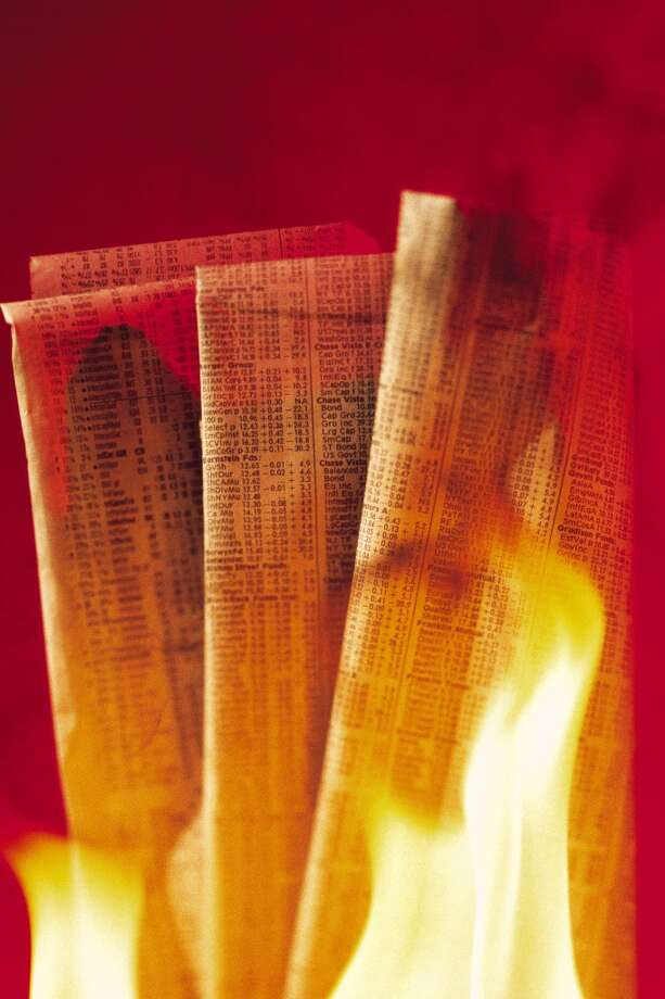 "Applicant set fire to the interviewer's newspaper while reading it when the interviewer said ""impress me"" Photo: Comstock, Getty Images"