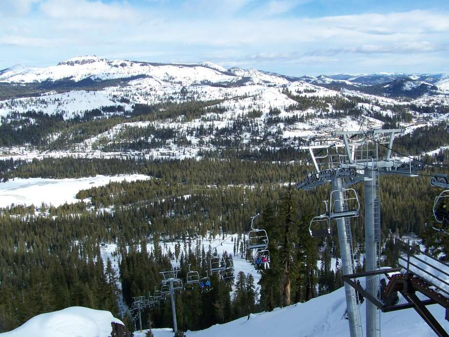 New Crow's Nest lift at Sugar Bowl