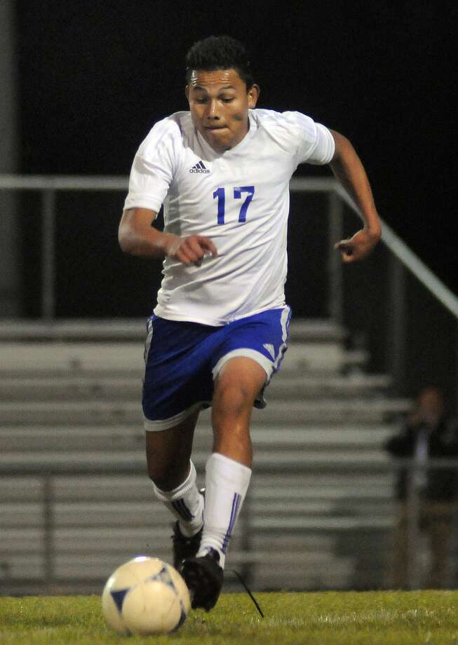 New Caney's Samuel Martinez played forward as a freshman but is lining up in the midfield this season. Photo: Jerry Baker, Freelance