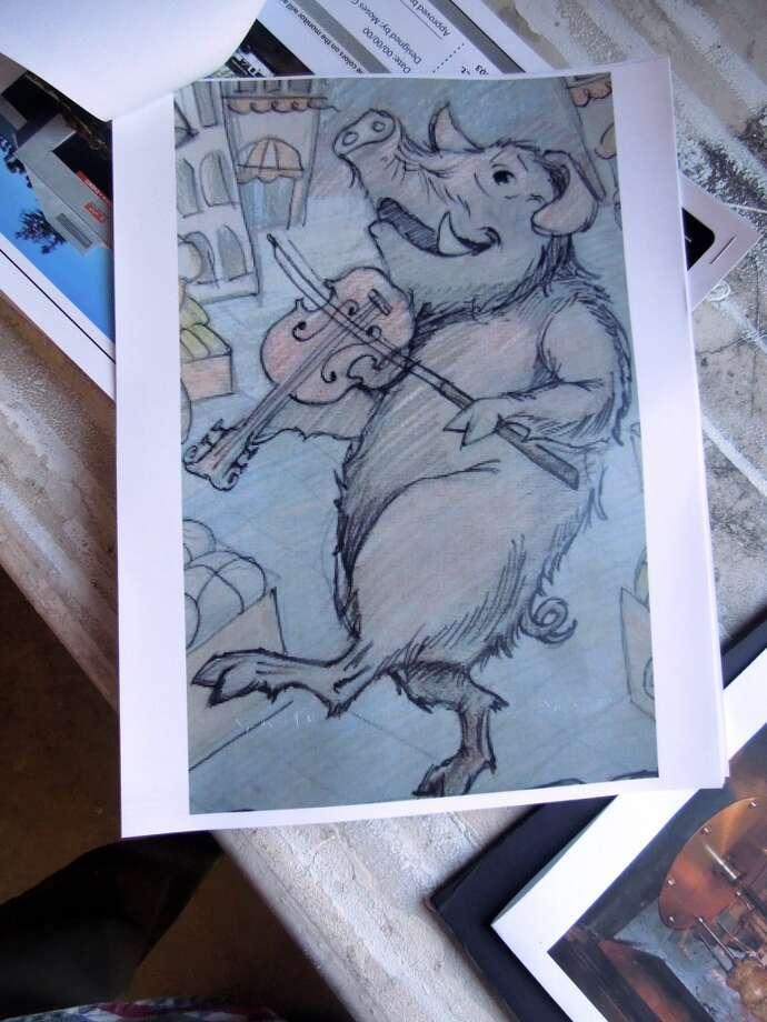 Some porky artwork