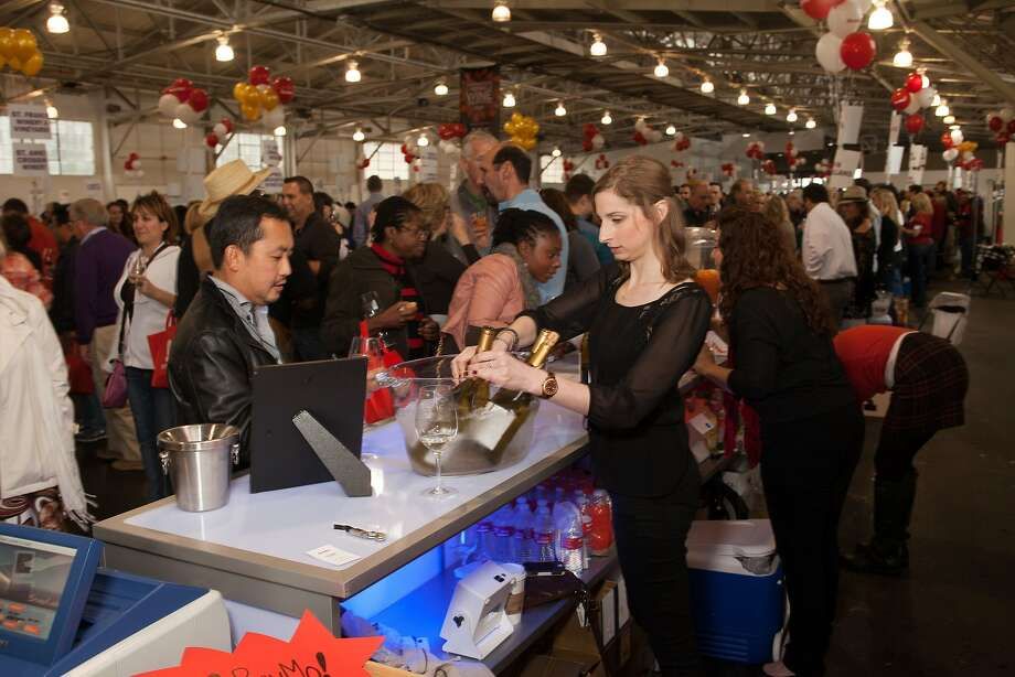 BevMo! booth  at the San Francisco Chronicle Wine Competition Public Tasting on Feb. 15, 2014, at Fort Mason in San Francisco. Photo: Dan Dion- Special To The Chronic, Special To The Chronicle