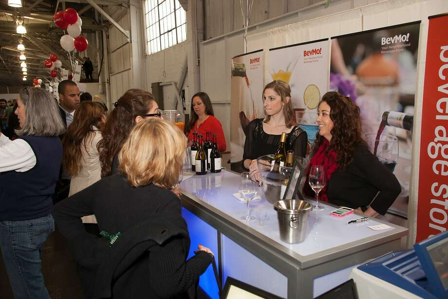 BevMo! booth pourers Kris Mulkey, Lindsey Berg and Jill Doe at the San Francisco Chronicle Wine Competition Public Tasting on Feb. 15, 2014, at Fort Mason in San Francisco. Photo: Dan Dion- Special To The Chronic, Special To The Chronicle