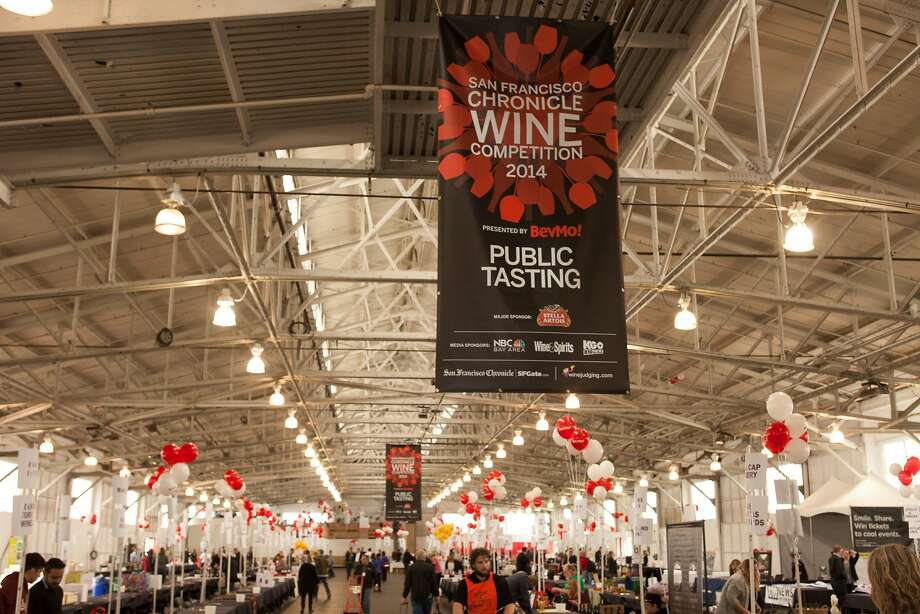 The San Francisco Chronicle Wine Competition Public Tasting on Feb. 15, 2014, at Fort Mason in San Francisco. Photo: Dan Dion- Special To The Chronic, Special To The Chronicle