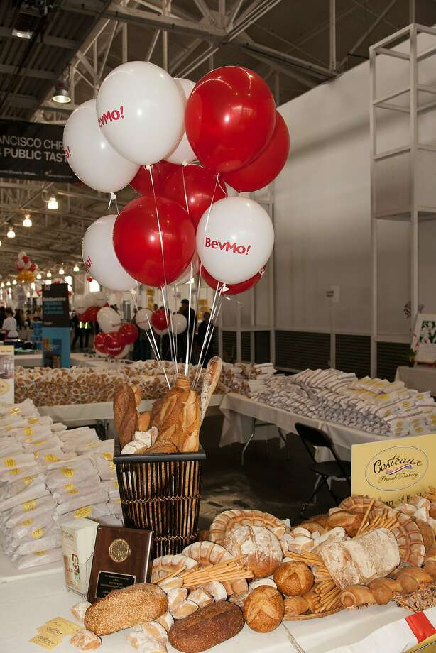 Bread from Costeaux French Bakery awaits attendees of the San Francisco Chronicle Wine Competition Public Tasting on Feb. 15, 2014, at Fort Mason in San Francisco. Photo: Dan Dion- Special To The Chronic, Special To The Chronicle