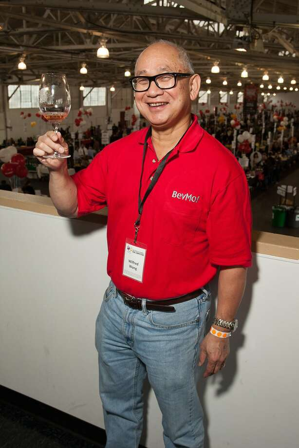 BevMo! Cellarmaster Wilfred Wong  at the San Francisco Chronicle Wine Competition Public Tasting on Feb. 15, 2014, at Fort Mason in San Francisco. Photo: Dan Dion- Special To The Chronic, Special To The Chronicle