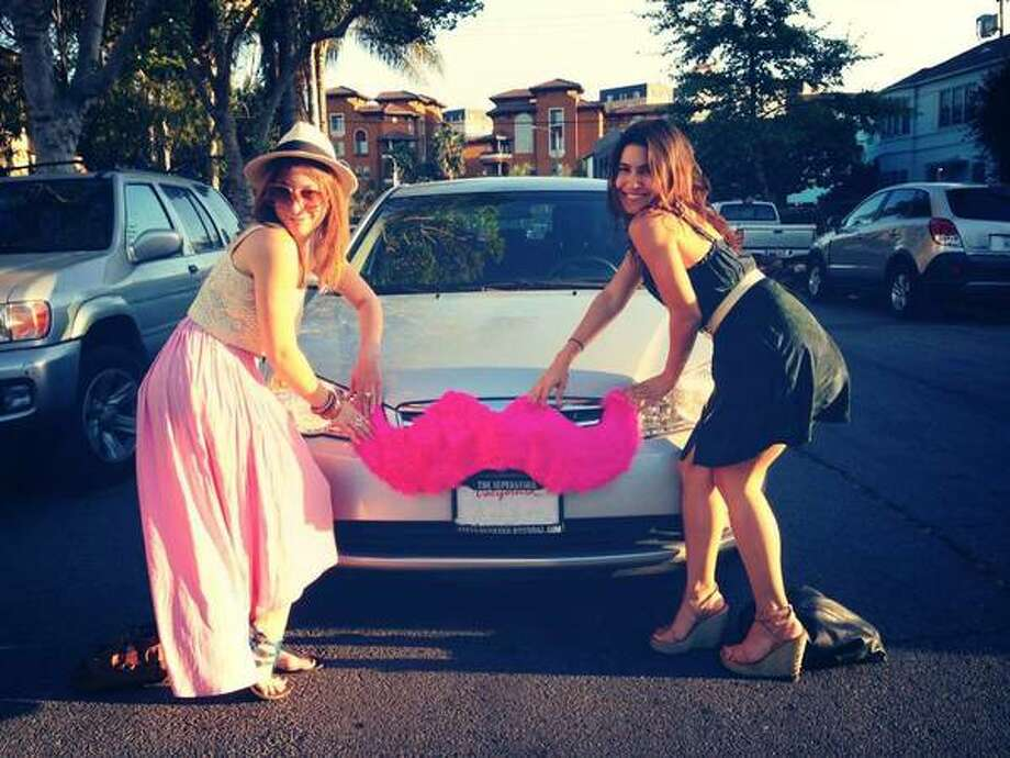 San Fransisco based car sharing company Lyft launch in Houston Friday. Photo: Lyft/Craiglist